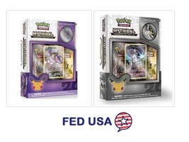 POKEMON Mythical Arceus + Genesect Mythical Collection Pin Box Generatio... - $31.99