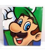 Nintendo Super Mario Brothers Luigi 6 x 6 Canvas Wall Art Print NEW US S... - $11.87