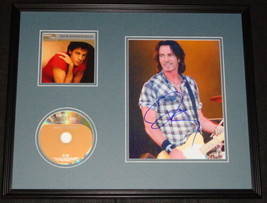 Rick Springfield Signed Framed 16x20 CD & Photo Display JSA - $168.29