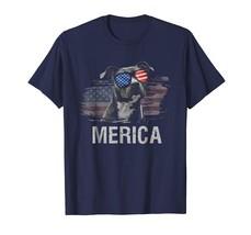 Dog Fashion - Pitbull Merica Memorial Day Patriot T-Shirt Men - £14.35 GBP+