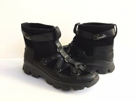 UGG PUFF MOMMA LAKES & LIGHTS BLACK WINTER FUR SNEAKERS US 11 / EU 42 / ... - $126.23