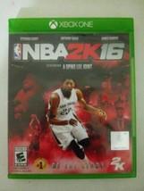 NBA 2K16 (Microsoft Xbox One, 2016 - $2.96