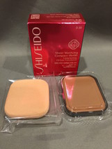 NIB Shiseido Sheer Matifying Compact Foundation Refill D30 Very Rich Brown - $20.53