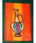 Sculptured picture of a Vase by E. Dain Mcleod ... - $48.50