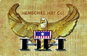 Henschel Replica Civil War Cowhide Suede Cap North South Made In USA Blue Gray