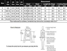 Women Lingerie Halter Chemise Lace Babydoll Mesh Nightwear V Neck Sleepwear Set image 7