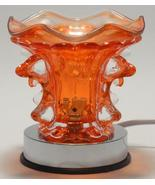 Orange Dolphin Electric Touch Lamp  Oil or Tart... - $19.95