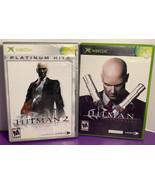 Lot of 2 Original Xbox Games Hitman Contracts + Hitman Silent Assassin P... - $14.84