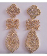 Jessica Kagan Cushman Brass Bow Earrings - $155.93