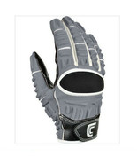 CUTTERS 017XT GAMER C-TACK MEN'S MULTI-POSITION FOOTBALL GLOVES LARGE - $26.04