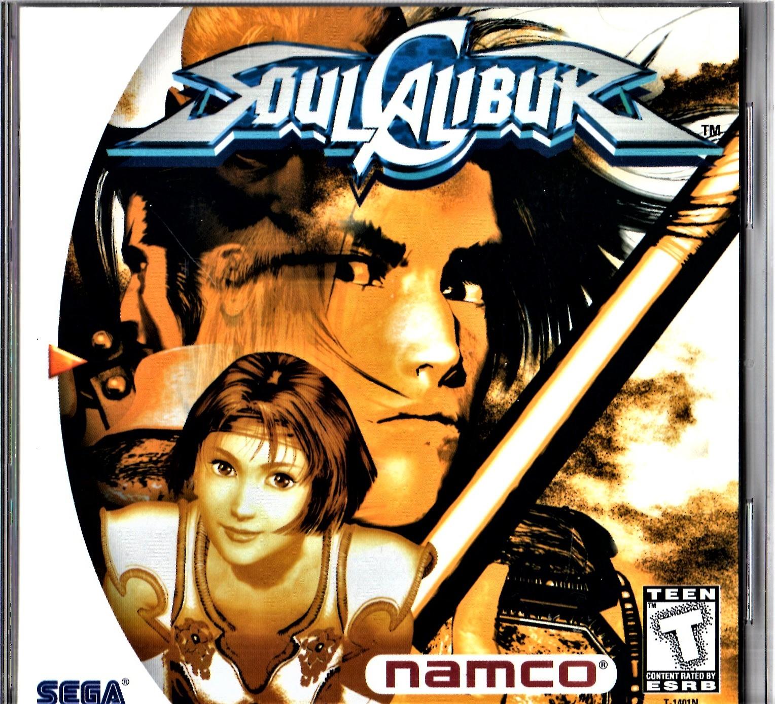 Sega Dreamcast - Soul Calibui