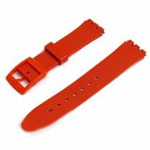 Red Resin Watch Strap Band to fit Standard Swatch Watch 17mm choice of colours - $9.95