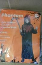 boys phantom costume NWT sz 4-6 hood robe - $6.99
