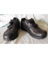 SHOES UNISEX NEW BALANCE MW577VK Black Leather Hook/Loop Walking Sz 8.5 ... - $50.24