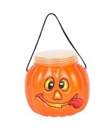 Pet Halloween Party Pumpkin Bottle Box Candy Tank Box Decorative Hallowe... - £4.55 GBP