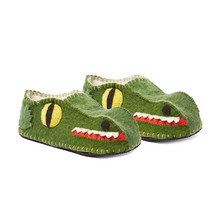 Allilgator Slippers Sheeps Wool and Rubber Men'... - $42.49