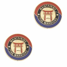 Genuine U.S. Army Crest: 403RD Support Brigade - Motto: Maintaining The Warriors - $19.78