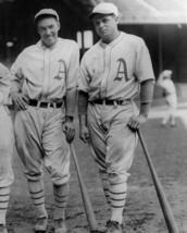 Jimmie Foxx & George Haas 8X10 Photo Philadelphia Athletics A's Baseball Picture - $3.95