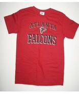 NFL TEAM APPAREL ATLANTA FALCON RED T-SHIRT FOOTBALL SIZE S Small  - NWOT - $11.40