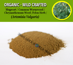 POWDER Mugwort Common Wormwood Felon Herb Artemisia Vulgaris Chrysanthem... - $7.99+