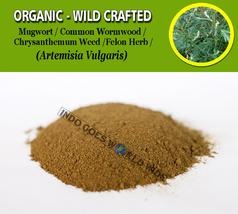 POWDER Mugwort Common Wormwood Felon Herb Artemisia Vulgaris Chrysanthemum Weed - $7.99+