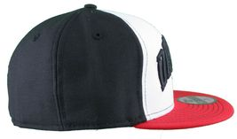 Dissizit New Era Fitted 59Fifty white/red/black Collegiate CALI Bear Hat Cap image 3