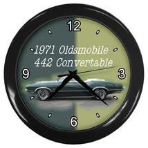 1971 Oldsmobile Decorative Wall Clock (Black) Gift model 14546726 - $18.18