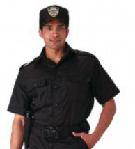 Short Sleeve Tactical Military Police Security Guard Officer Black Unifo... - $27.71+