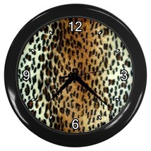 Cheetah Decorative Wall Clock (Black) Gift model 16798182 - $18.18