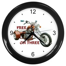 Clock Trike Free On Three Decorative Wall Clock (Black) Gift model 14582105 - $18.18