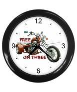 Clock Trike Free On Three Decorative Wall Clock (Black) Gift model 14582105 - $18.18