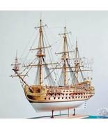 1/50 Luxury classic sail boat Wooden model kits San Felipe warship model - $469.25