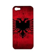 NEW iPhone 5 Hard Shell Case Cover Albania Albanian Flag Country Gift 34... - $19.14