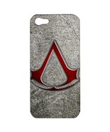 NEW iPhone 5 Hard Shell Case Cover Assassins Creed Emblem Gift model 348... - $19.14
