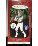 1997 HALLMARK KEEPSAKE ORNAMENT CHRISTMAS JOE NAMATH NY JETS FOOTBALL LE... - $11.88