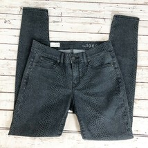 GAP 1969 Gray Snake Print Skinny Legging Jeans - Size 27/4 - $22.30