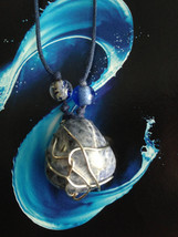 Wire Wrapped Sodalite Necklace - $30.00