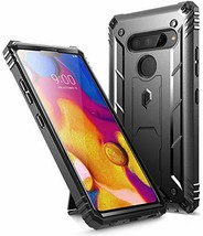 LG V40 ThinQ Rugged Case FullBody Rugged Heavy Duty BuiltinScreen Protector - $27.23