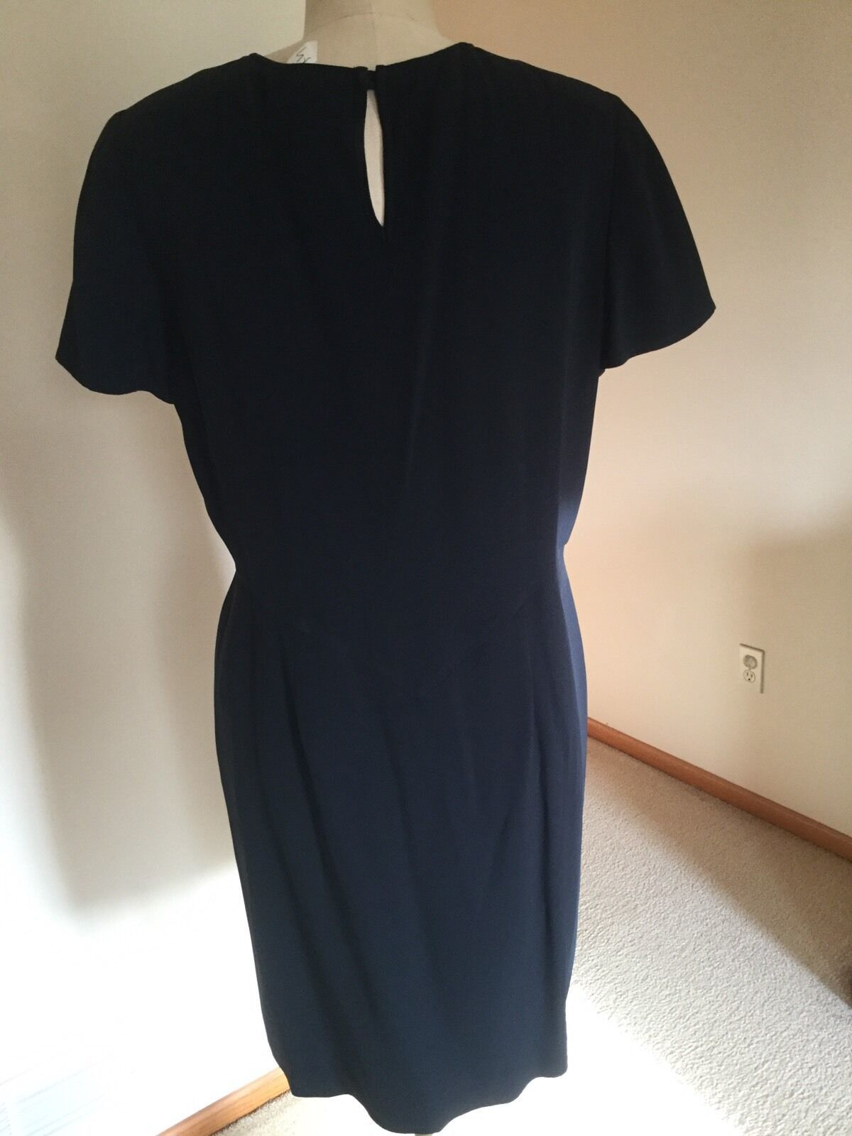 Armani dress,US Size 12,Navy,Short sleeves, image 3