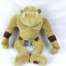 "Disney Store Plush Troll Enchanted Movie Green Monster Stuffed Toy 18"" Ogre - $18.80"
