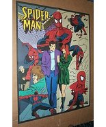 2 SIDED SPIDER-MAN KID'S COLOR IT YOURSELF MARVEL POSTER 1 - £29.08 GBP