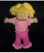 """17"""" 2005 CABBAGE PATCH KIDS BABY DOLL BLONDE HAIR GIRL STUFFED ANIMAL PL... - $24.31"""