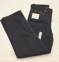 Faded Glory Boys Jeans Sz 16 Husky Flex Straight Dark Wash Denim Blue Je... - $19.16