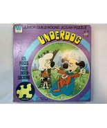 Vintage Underdog Cartoon Puzzle 1972 Whitman Racine WI - $5.00