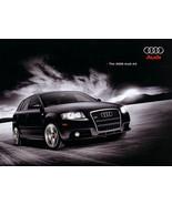 2008 Audi A3 sales brochure catalog US 08 2.0T 3.2  - $8.00