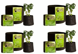 """5 Gallon Smart Pot 12""""x 9.5""""- 4 Pack - $49.40"""