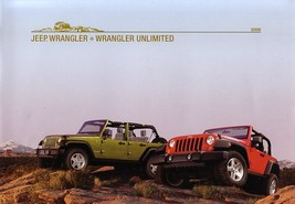 2008 Jeep WRANGLER brochure catalog US 08 Unlimited - $12.00