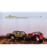 2008 Jeep WRANGLER brochure catalog US 08 Unlimited - $12.00