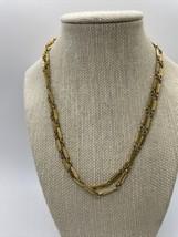 Vintage Goldtone Vendome Signed Necklace - $39.59
