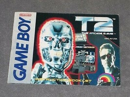 Nintendo Game Boy: T2: The Arcade Game [Instruction Book Manual ONLY] - $5.00